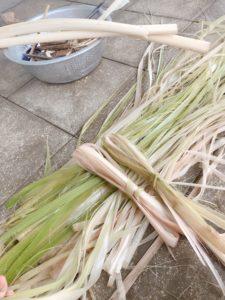 芭蕉の糸紡ぎ
